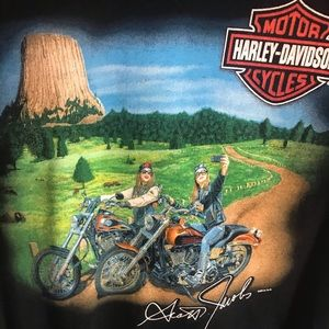 Limited edition Harley Davidson Scott Jacobs tee L